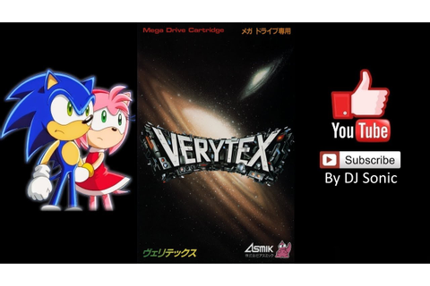 Verytex (Mega Drive) - Longplay - YouTube