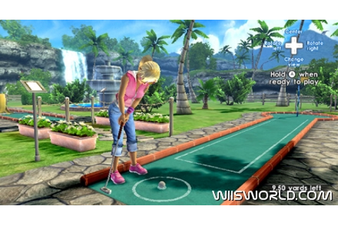 Fun Fun Minigolf on WiiWare