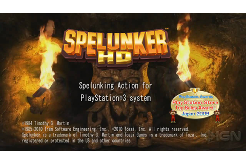 Spelunker HD: Trailer - YouTube