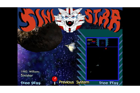 Sinistar (Arcade) - Game Play - YouTube