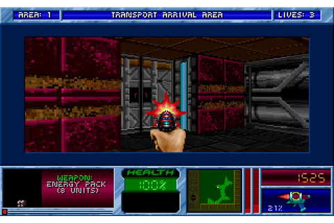 Blake Stone 2: Planet Strike shooter for DOS (1994 ...