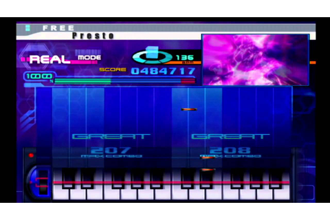 KeyboardMania II (PS2) - Presto - YouTube