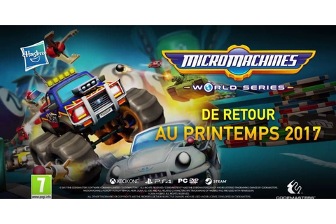 [Vidéo] Trailer Micro Machines World Series sur PS4, Xbox ...
