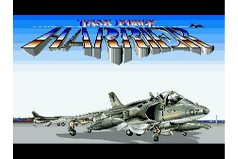 Task Force Harrier (Arcade/Treco/1989) [720p] - YouTube