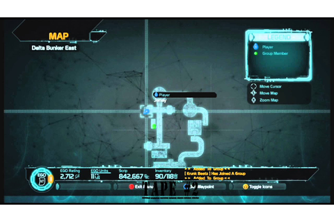 Defiance Co-Op map Liberate the Lost- Delta Bunker East ...
