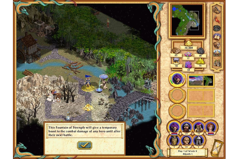 Heroes of Might and Magic 4 - PC Review | Old PC Gaming
