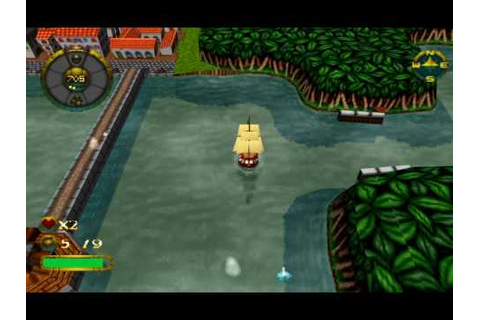 Overboard! - Funny PSX game from 1997 - YouTube