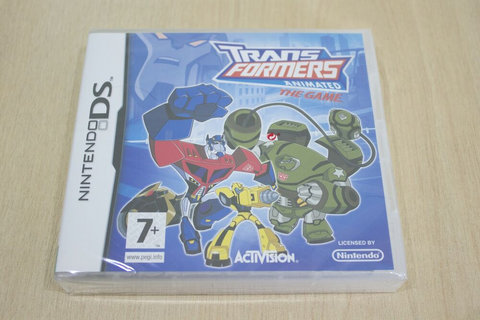 Transformers Animated: The Game - Nintendo DS New Factory ...