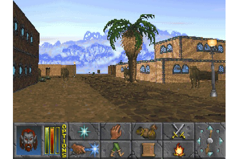 Download The Elder Scrolls 2: Daggerfall rpg for DOS (1996 ...