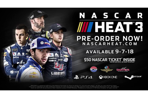 NASCAR Heat 3 announced, will release September 7th onto ...