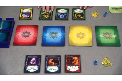Learn a Board Game - Spellcaster - YouTube