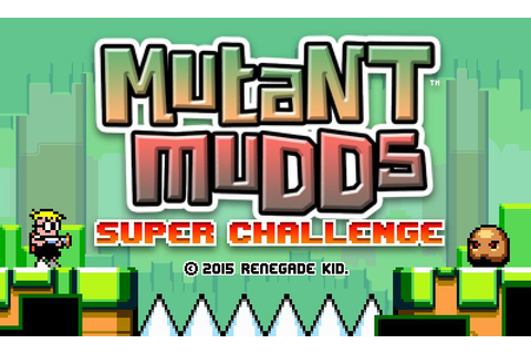 Mutant Mudds Super Challenge Announced For 3DS And Wii U ...