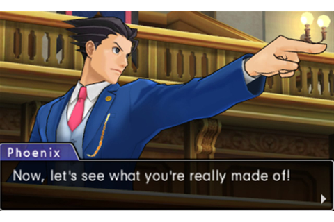 Review: Phoenix Wright: Ace Attorney - Dual Destinies ...