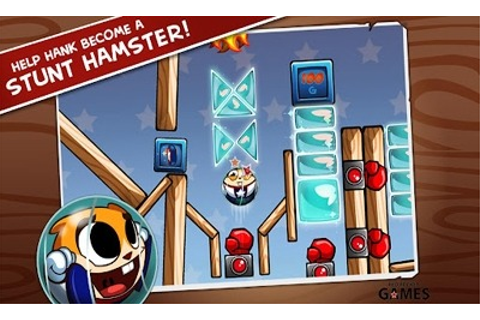Download Free Android Game Hank Hazard. The Stunt Hamster ...