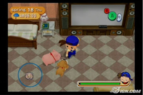 Download Game PC Harvest Moon: Magical Melody Gamecube Gratis