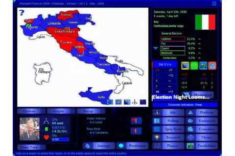 President Forever 2008 + Primaries - Italy 2008 - YouTube