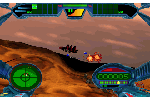 Scorched Planet (1996) by Criterion Games for MS-DOS
