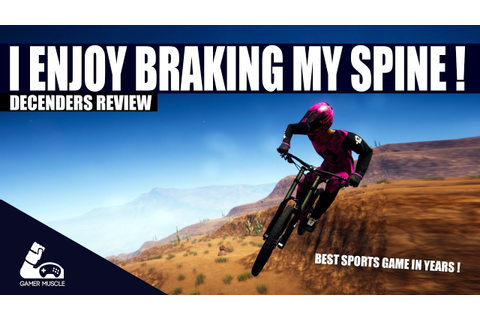Descenders Review - The best sports game for years ! - YouTube