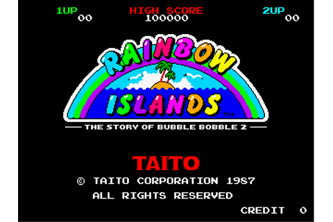 Rainbow Islands The Story Of Bubble Bobble 2 - Videogame ...