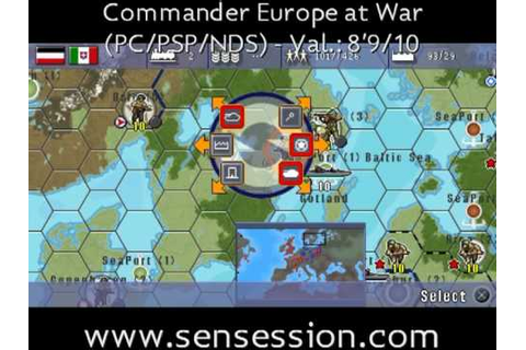 Commander Europe at War analisis review - YouTube
