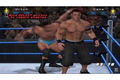 WWE SmackDown! vs. Raw 2006 PS2 Gameplay HD - YouTube