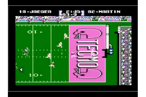 Tecmo Super Bowl (Kickoff Safety) - YouTube