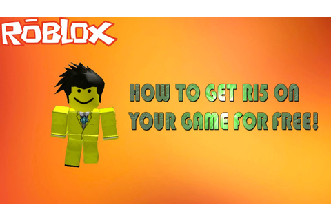Roblox | How To Enable R15 On Your Game For Free! - YouTube