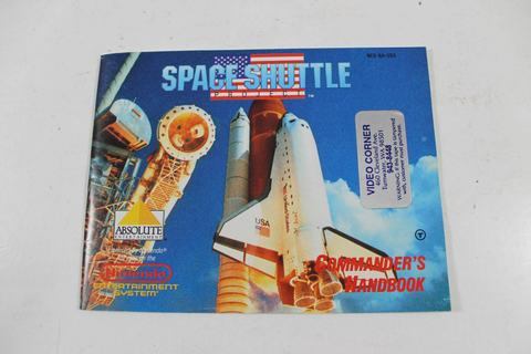 Manual - Space Shuttle Project - Nes Nintendo