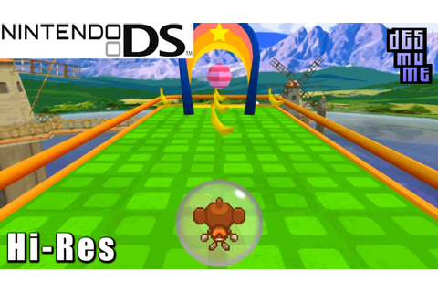 Super Monkey Ball Touch & Roll - Nintendo DS Gameplay High ...