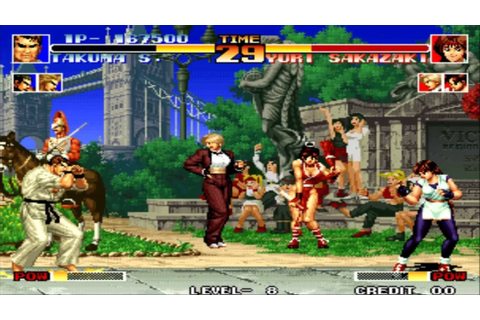 King Of Fighters '94 Releasing On PS4 Today