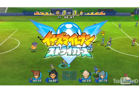 Download Inazuma Eleven Strikers Xtreme | Idwmenager