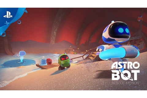 ASTRO BOT Rescue Mission – Launch Trailer | PS VR - YouTube