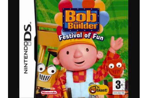 Bob the Builder: Festival of Fun (DS) Main Menu / Minigame ...