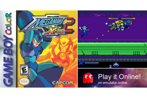 Play Mega Man Xtreme 2 on Game Boy