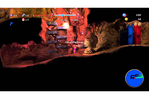 Spelunker World 1-4 Game play walkthrough PSN Playstation ...