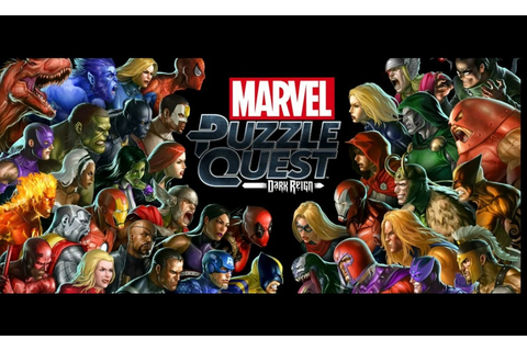 REVIEW: MARVEL PUZZLE QUEST: DARK REIGN (PS4) | Comic ...