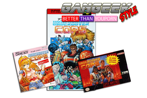 Undercover Cops -Super Famicom - Gangeek Style