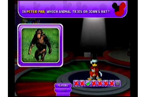 Disney Think Fast Wii 2 Player Friendly Match Part 2 - YouTube
