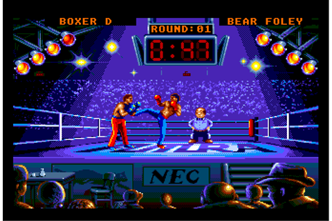 Play Panza Kick Boxing NEC TurboGrafx 16 online | Play ...