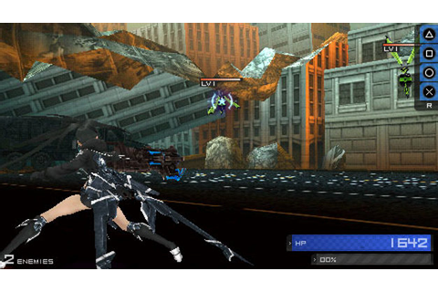 Black Rock Shooter The Game Game | PSP - PlayStation