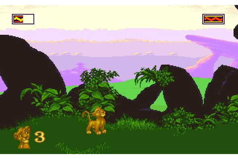 Download The Lion King action for DOS (1994) - Abandonware DOS