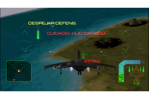 Eagle One Harrier Attack PSX - Parte 4 - YouTube