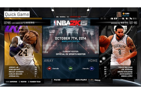 Free Download NBA 2K15 PC Full Version Reloaded | Download ...