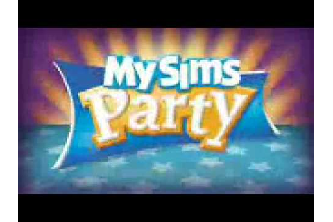 MySims Party Wii / DS Video Trailer - YouTube