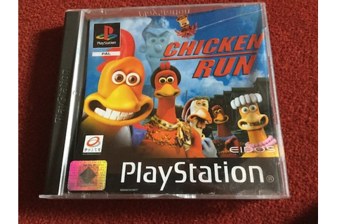 chicken run, video game, ps1, playstation - Chicken Run ...