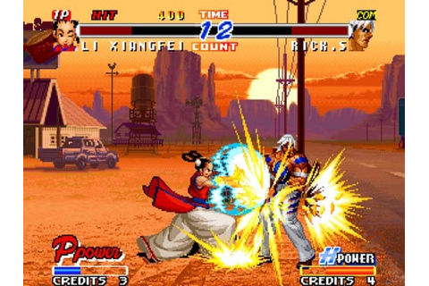 Real Bout Fatal Fury 2: The Newcomers (Neo Geo) Screenshots