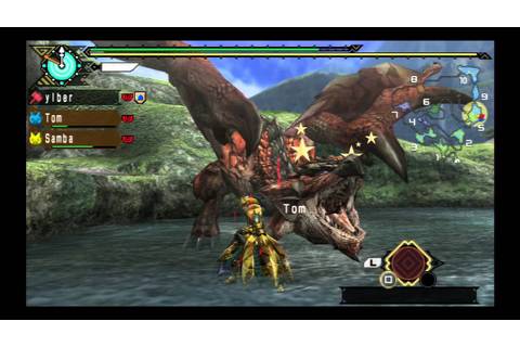 Monster Hunter 3rd Ps3 Gameplay - YouTube