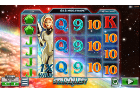 StarQuest - Play Free | Big Time Gaming Software Casino Slots