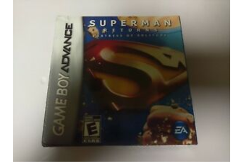 Superman Returns: Fortress of Solitude (Nintendo Game Boy ...