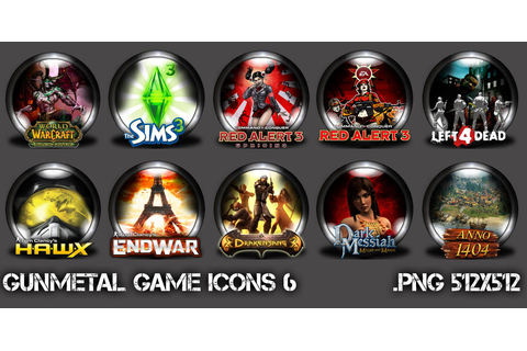 GunMetal Game Icons 6 by auriel2k4 on DeviantArt